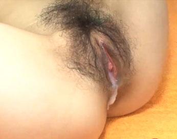 Japonesa coño peludo termina con corrida interna