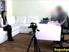 Nerviosa en casting porno xxx