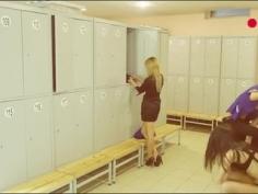 Cámara oculta en vestuario de azafatas