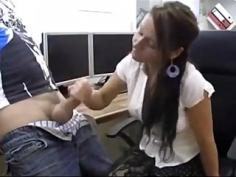 Secretaria follada por su compañero de trabajo