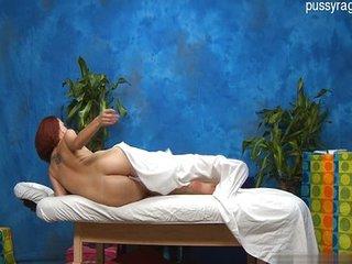 Trabajos manuales con el masajista